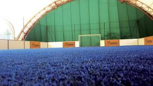 Terrains de soccer de l'Arena Multisports le plus grand d'Auvergne