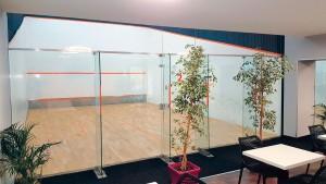 Terrains de squash numéro 2 de l'Arena Multisports