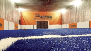 Terrains soccer indoor de l'Arena Multisports
