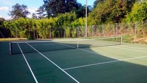 Terrains de tennis de l'Arena Multisports